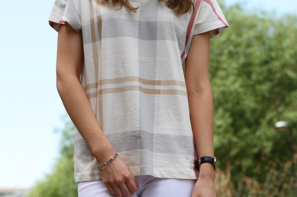 tartan t-shirt