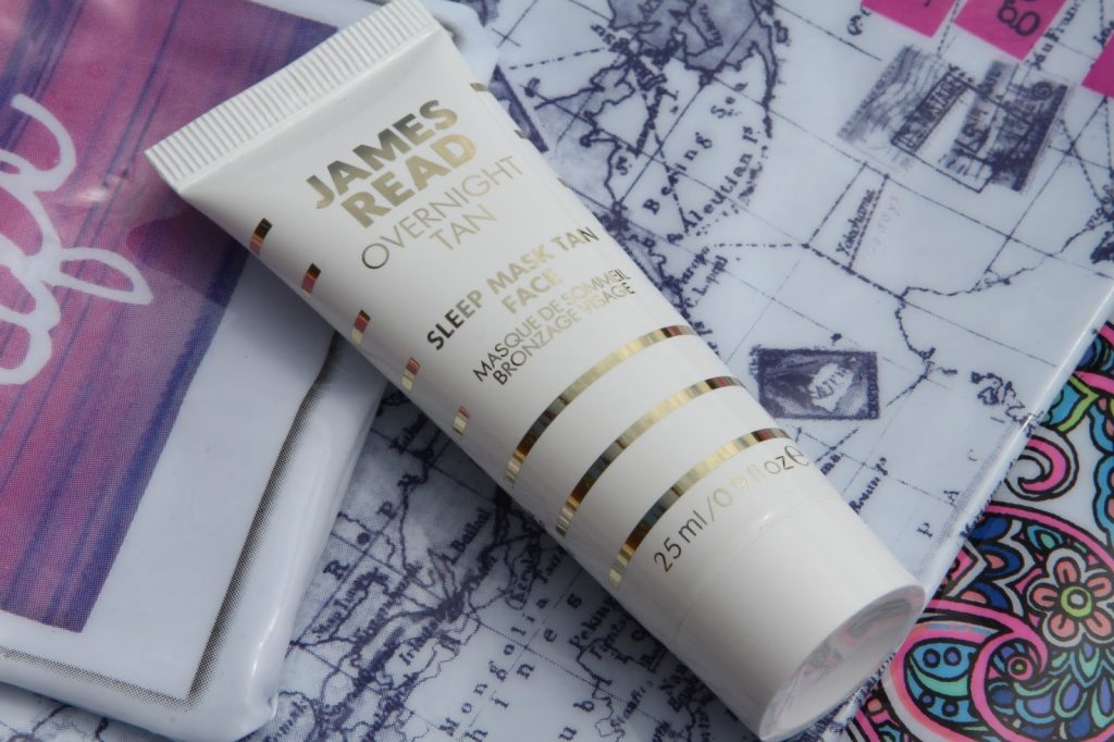 james read overnight sleep mask face