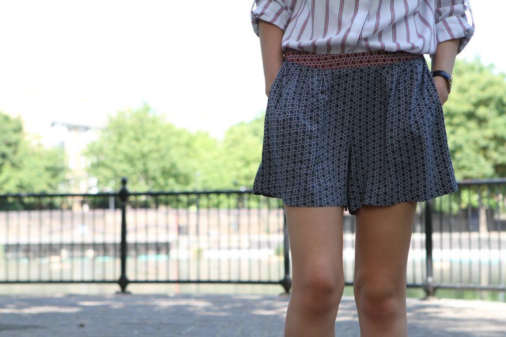 matalan printed shorts
