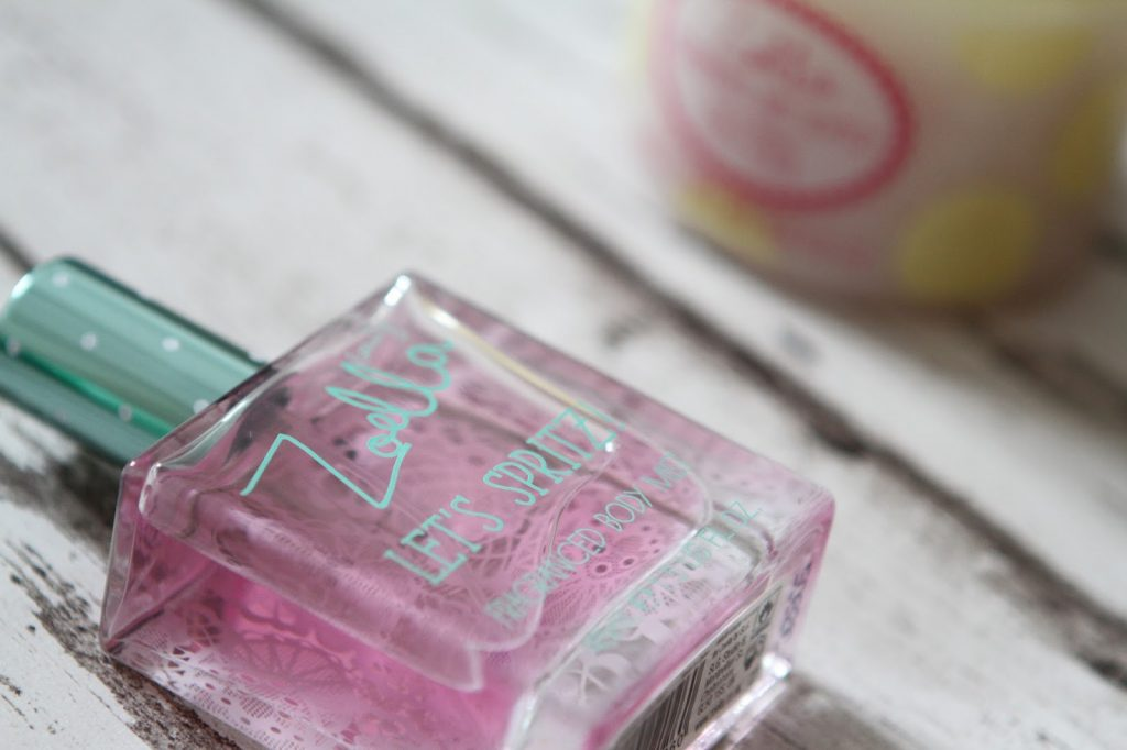 Zoella beauty tutti fruity spritz