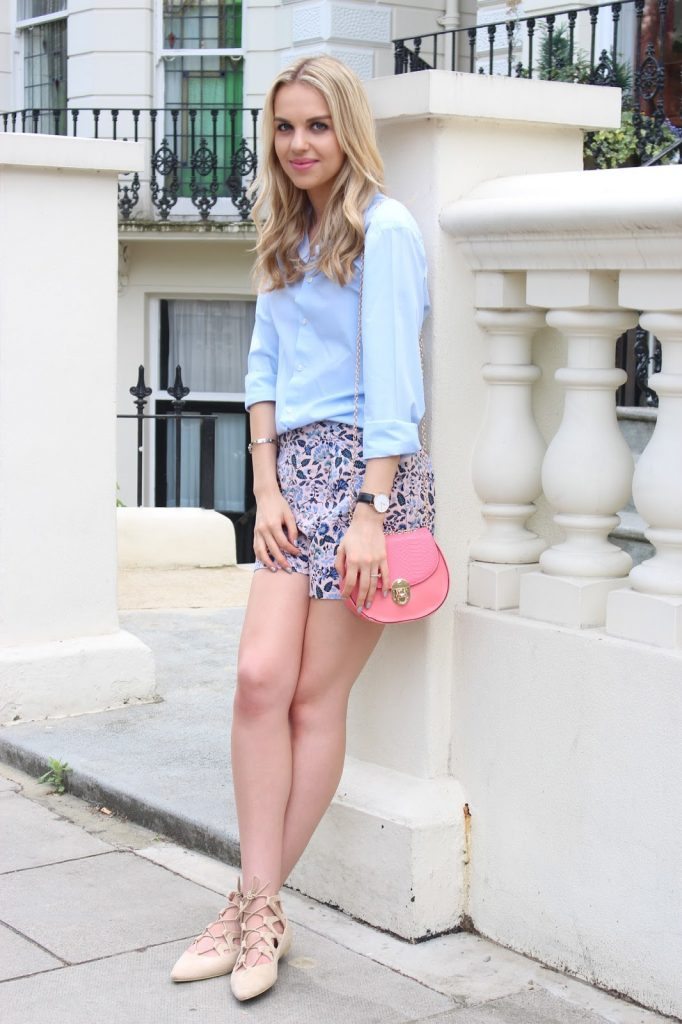 Chloe drew dupe pastel outfit