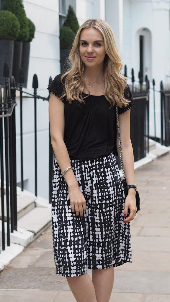 Culottes, fashion blogger