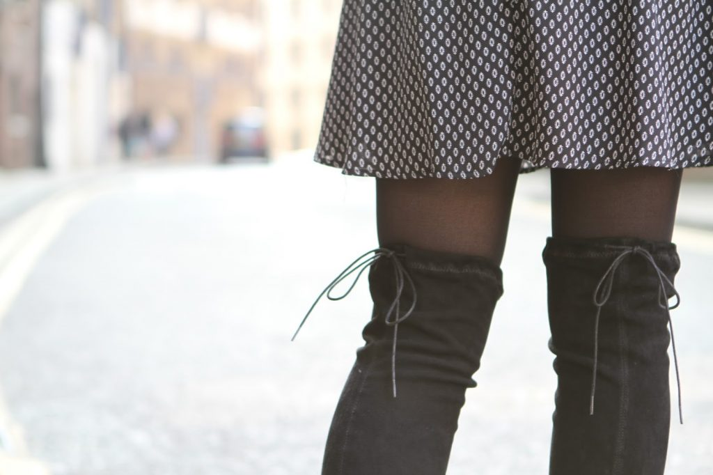Ted and muffy empress boots and primark dress
