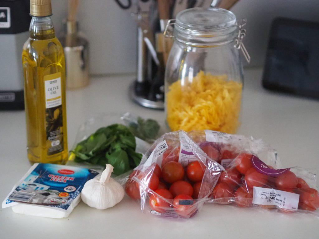Tiktok Feta Tomato pasta gluten free